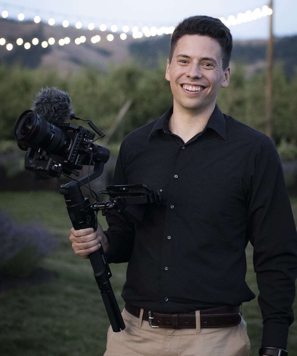 Andrew Cox, owner of Fireside Media, [act field='indef'] [act field='city'] videographer